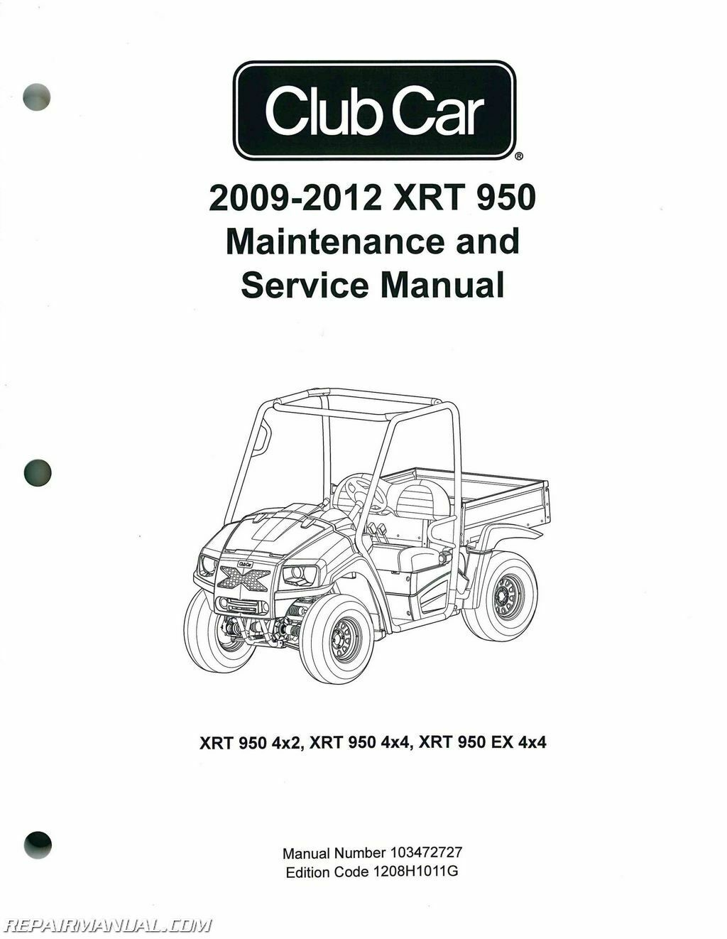 ... Cart Service Manual : 103472727 1 of 1Only 5 available ...