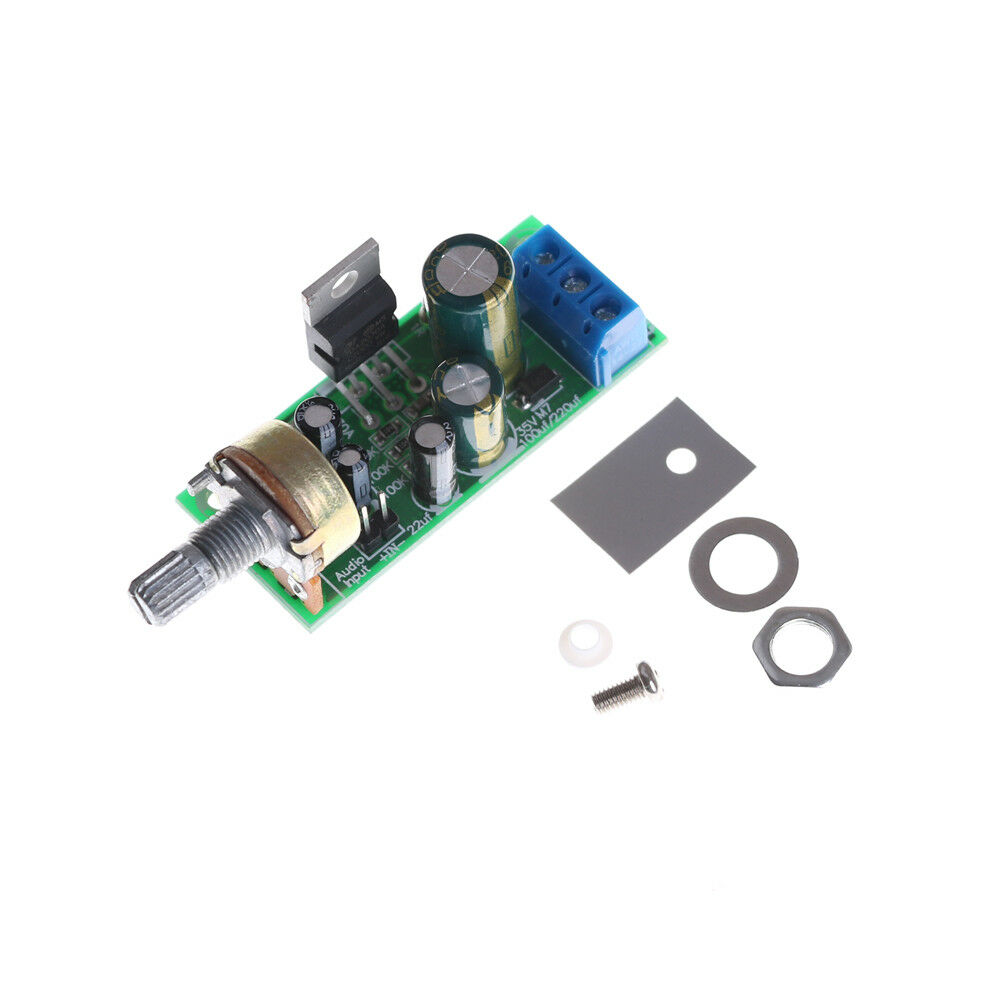 Tda2030a Audio Power Amplifier Board Module Mono 15w 18w Dc 12v 24v Preamp Volume Control Headphone Diy Amp 1 Of 6only 3 Available See More