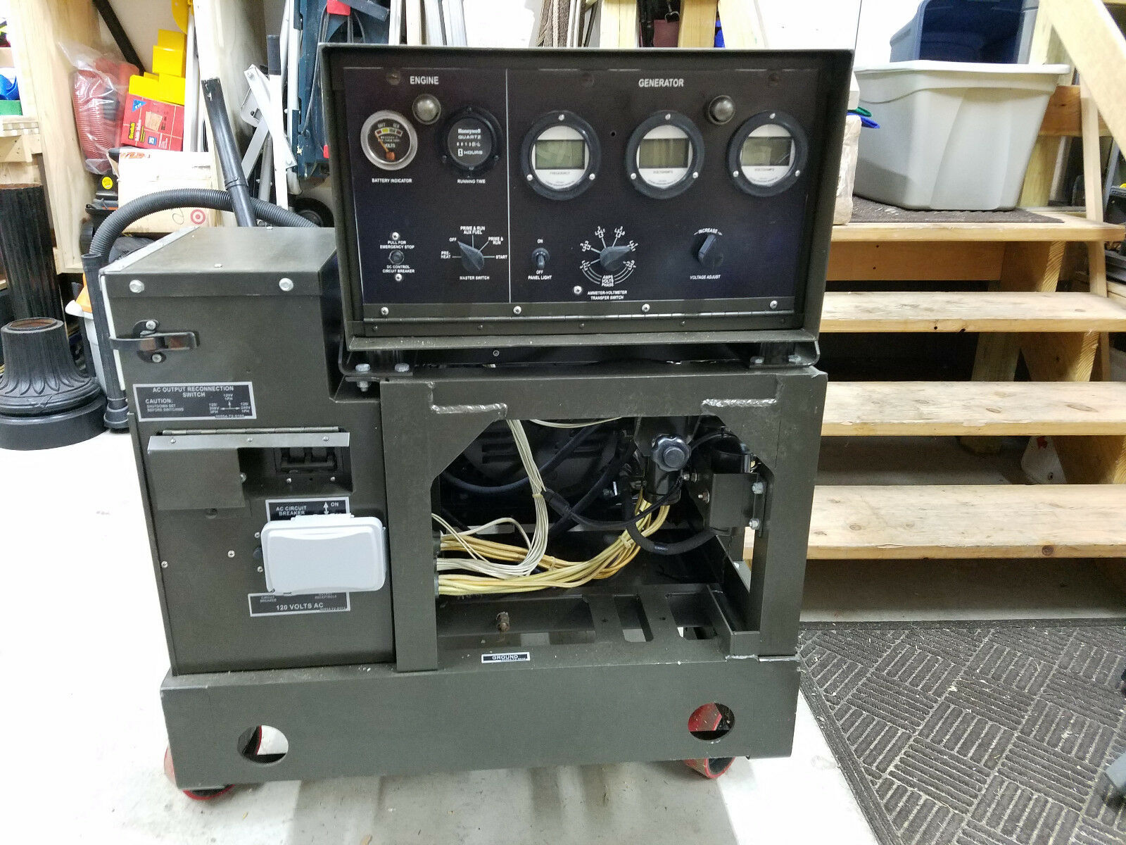 Mep 003a Military Diesel Generator 10kw Onan 803 802 002 Mint 10 Kw Wiring Diagrams 1 Of See More