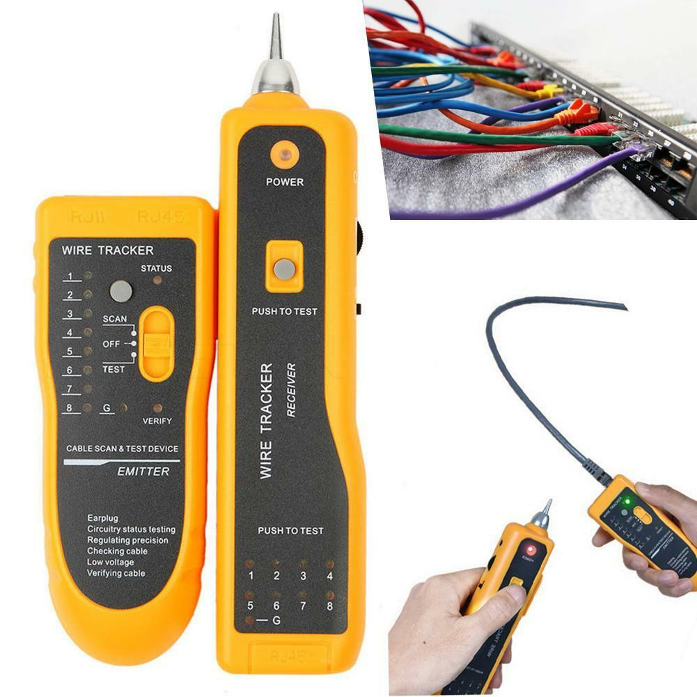 Jw 360 Lan Network Cable Tester Rj11 Rj45 Utp Stp Line Finder Wire 1 Of 12only 0 Available