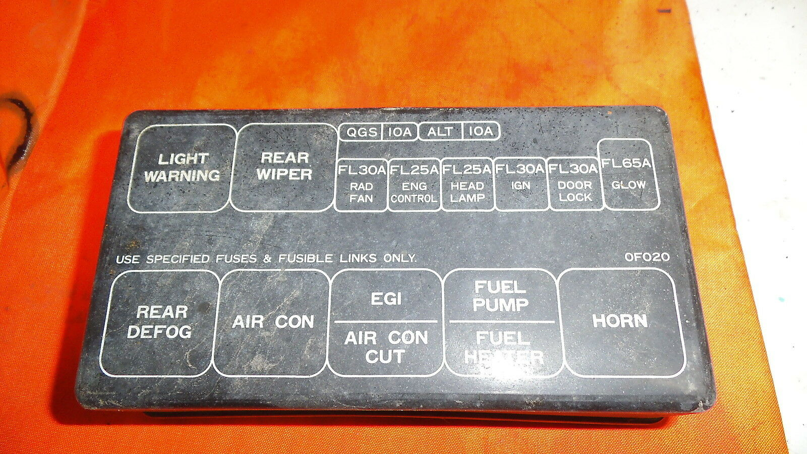 ford maverick fuse box