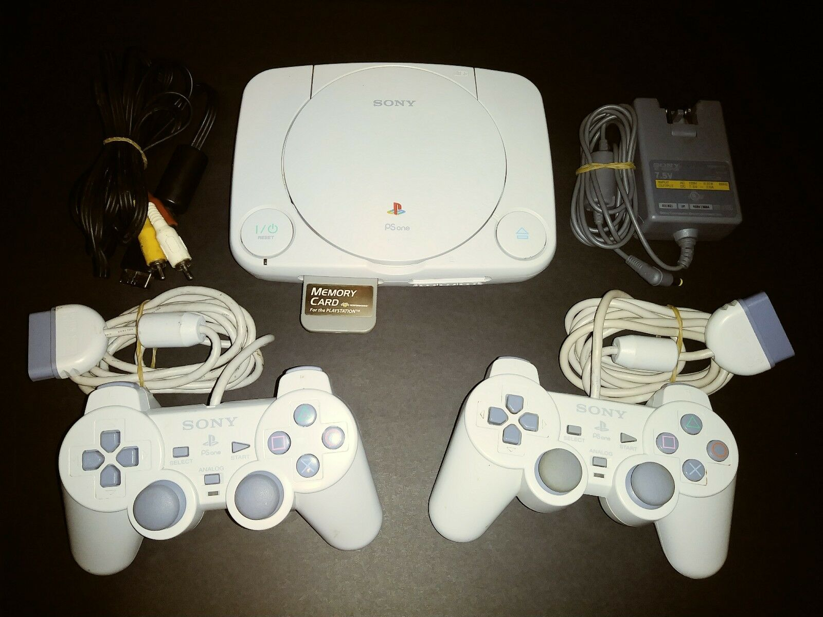 Sony Psone Playstation 1 Ps1 Slim Mini Console Cleaned Tested Very 4 500gb Hits Bundle Jet Black Region 3 Of 9 See More