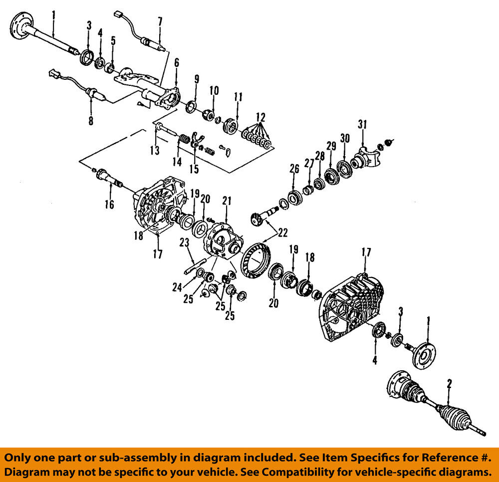 Acadia Gmc Axle Shaft Diagram Opinions About Wiring Engine Gm Oem Front Output Seal 19169124 6 57 Picclick Rh Com Chevy Cobalt
