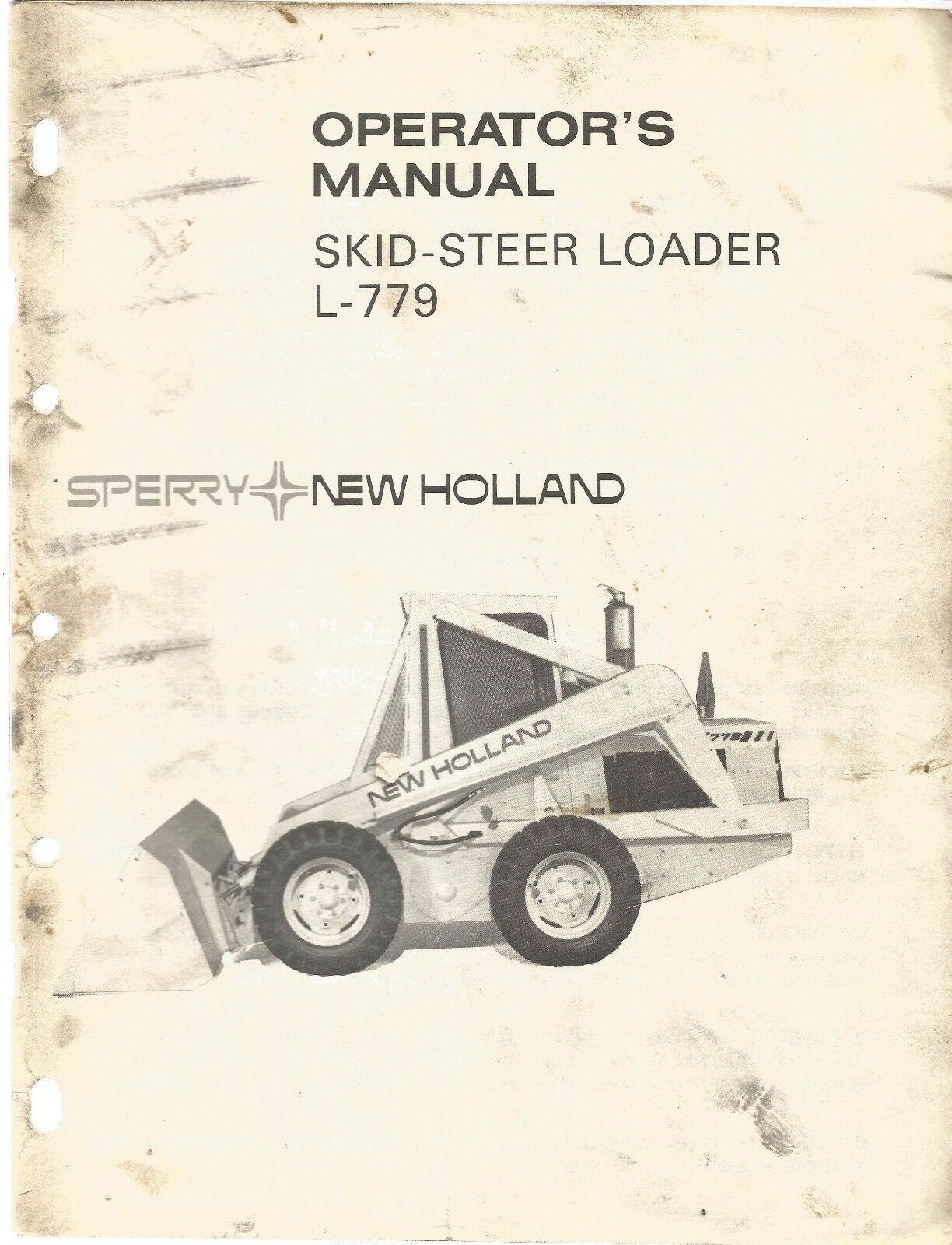 New Holland L-779 Loader Operator's Manual 1 of 1Only 1 available ...