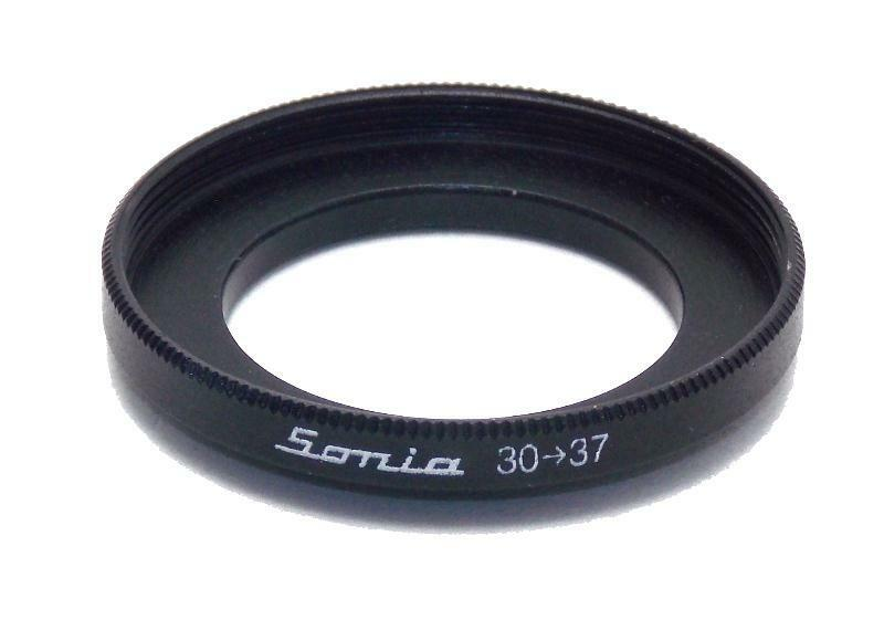 Metal Step up ring 30mm to 37mm 30-37 Sonia New Adapter