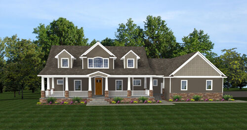 2 Story Craftsman House Plans