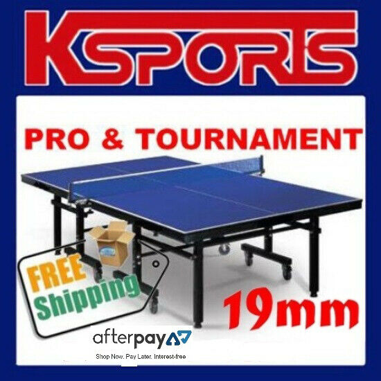 Table tennis ping pong table pro size 19mm top ittf - How much does a ping pong table cost ...