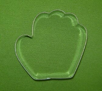 Cookie Cutter Baseball Glove - 3 Inches