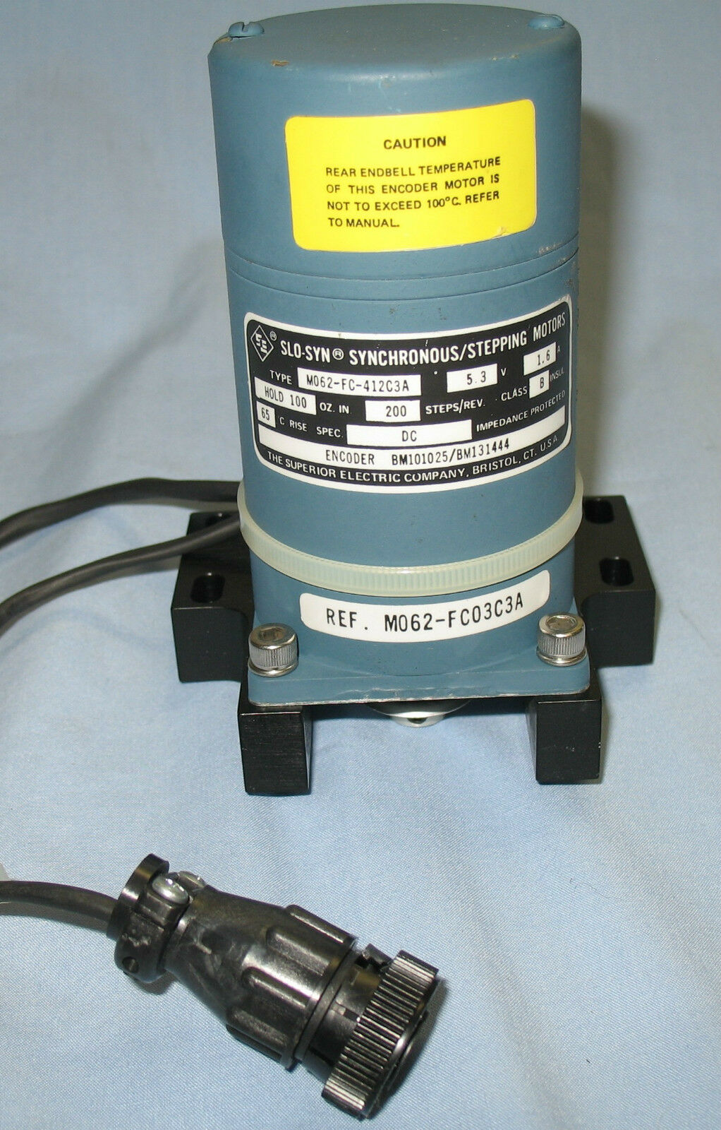 Superior Elect Slo Syn Synchronous Stepping Motor M062