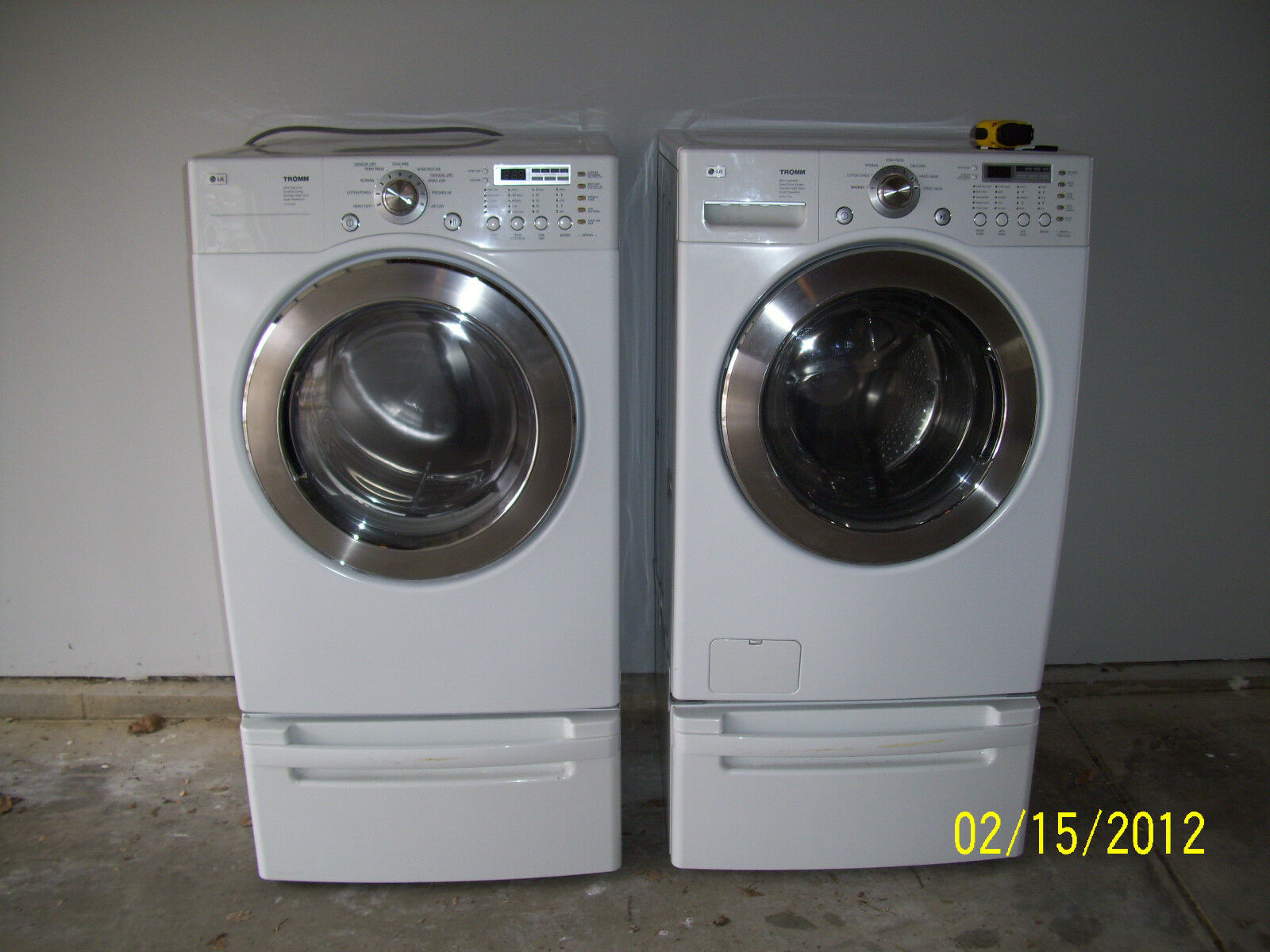 Washer And Dryers Lg He Washer And Dryer