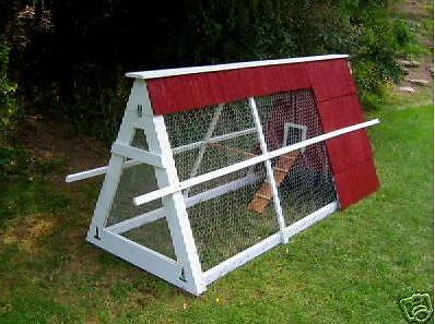 CHICKEN TRACTOR PLANS COOP Poultry Ark Homesteading DIY