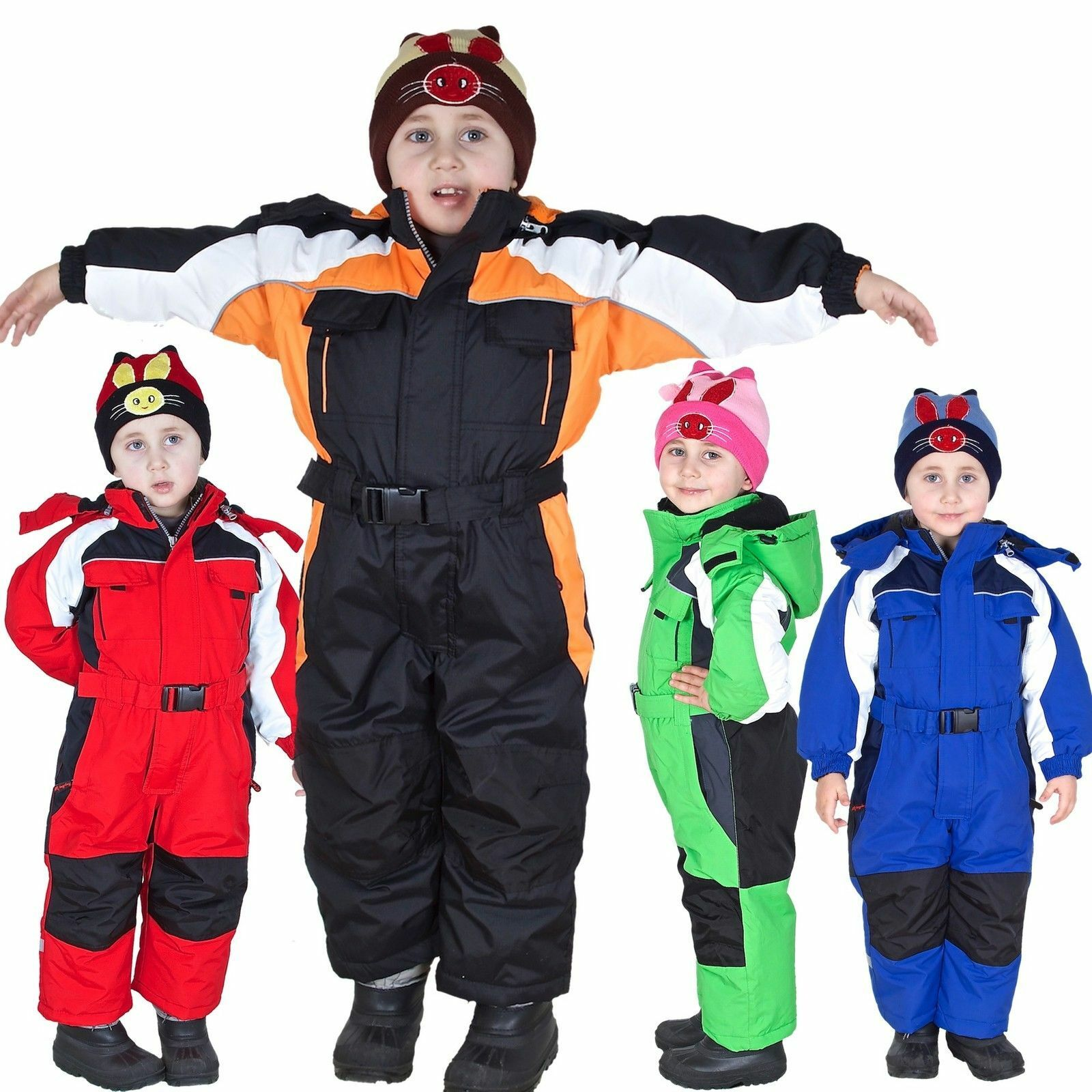 schneeoverall schneeanzug winteranzug skianzug kinder skioverall schnee 1203 neu eur 9 50. Black Bedroom Furniture Sets. Home Design Ideas