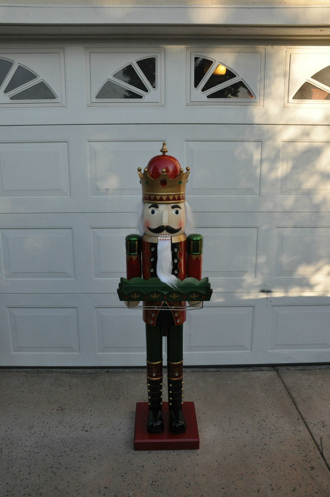 Decorationslifesize toy soldiers and nutcracker christmas decorations - Filename Rare 5 Life Size Wooden Soldier Butler Christmas Jpg