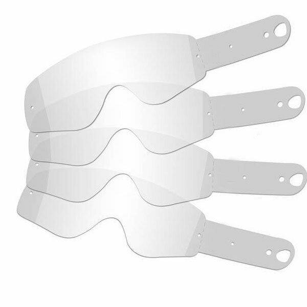 100% Racecraft Accuri Strata Motocross Goggle Tearoffs 20 Pack -Made In Usa -New