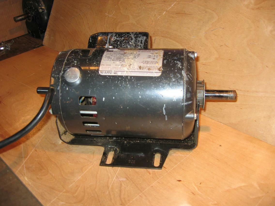 Craftsman belt drive table saw motor 1 hp dual shaft 113 for 1 hp table saw motor