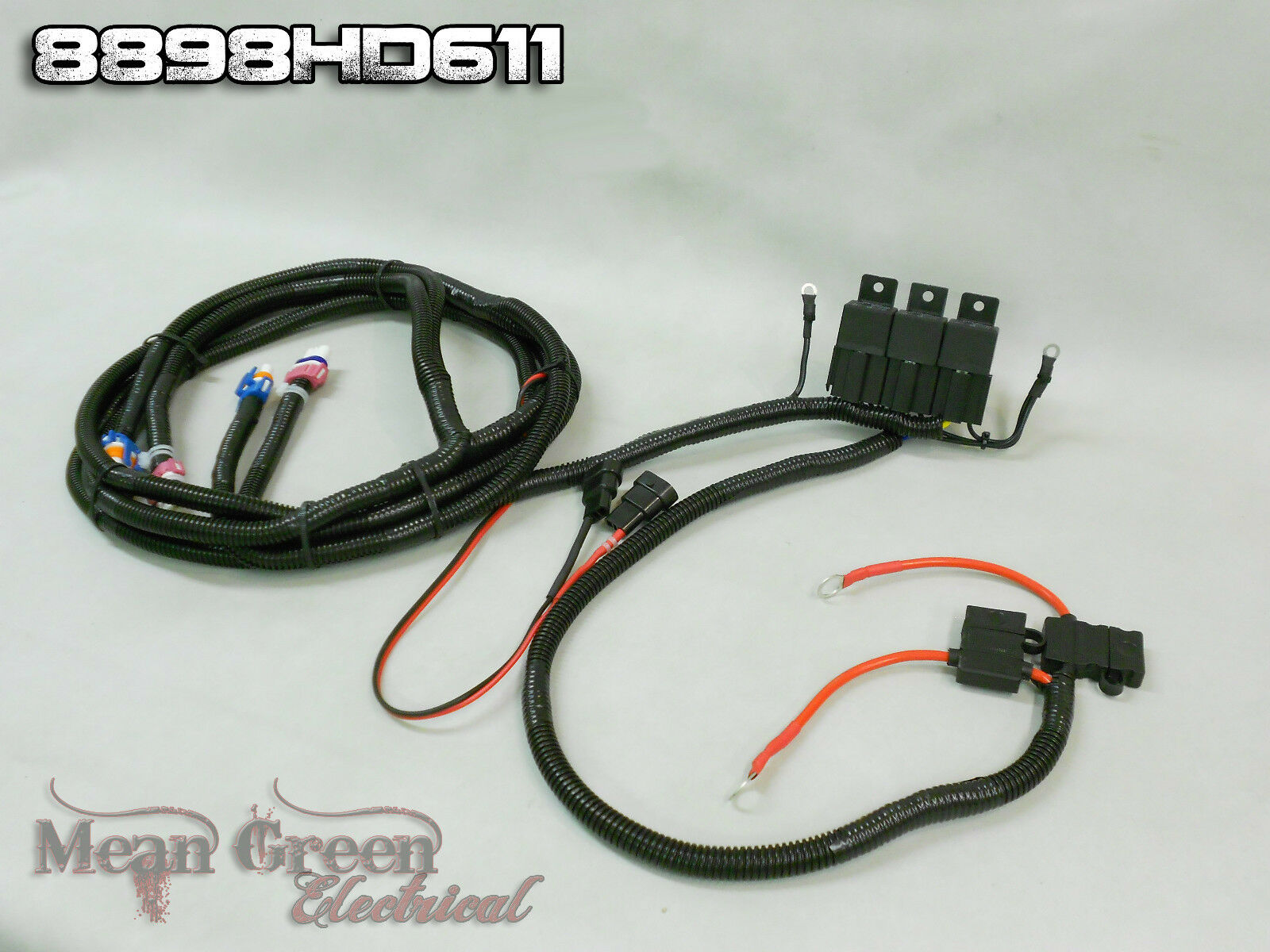88 98 Chevy Gmc Heavy Duty Headlight Harness With 4 High Pontiac Headlamp 1 Of 3free Shipping