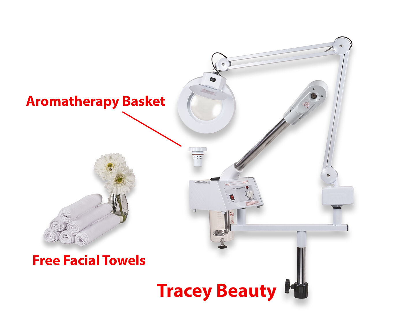 assembly facial steamer
