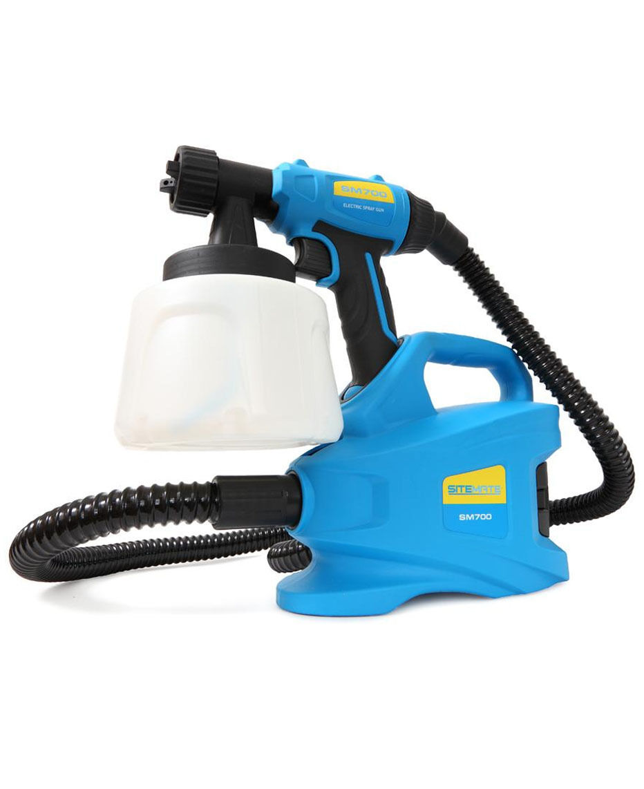 Powerful 700w Electric Paint Sprayer Gun For Fencing Walls Sitemate Sm700
