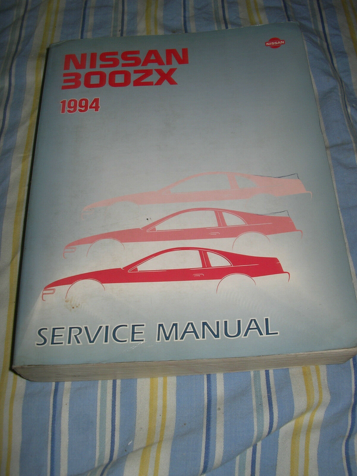 1994 NISSAN 300ZX SERVICE MANUAL SHOP REPAIR FACTORY Z32 series 1 of 1Only  2 available ...