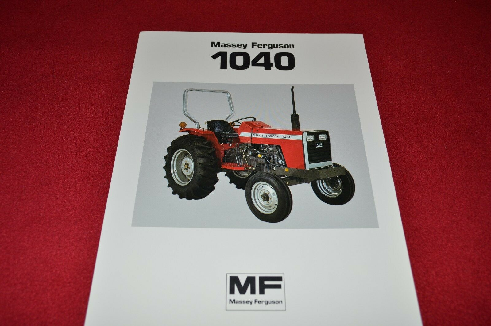 Massey Ferguson 1040 Tractor Dealer's Brochure LCOH 1 of 1FREE Shipping ...