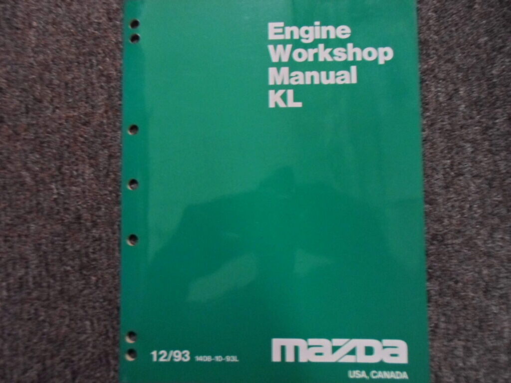 1997 Mazda KL Engine Workshop Service Repair Shop Manual FACTORY OEM BOOK 97  x 1 of 9Only 1 available See More