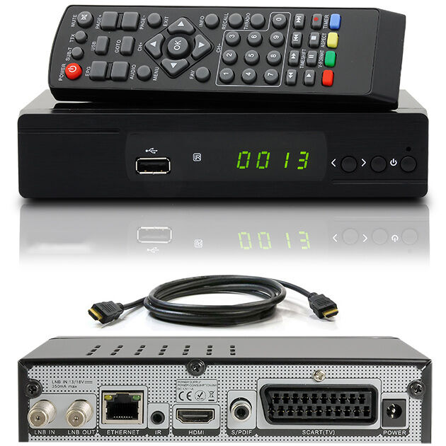 full hdtv hd digital sat receiver m310 plus hdmi kabel dvb s2 usb scart dxh310 eur 34 90. Black Bedroom Furniture Sets. Home Design Ideas