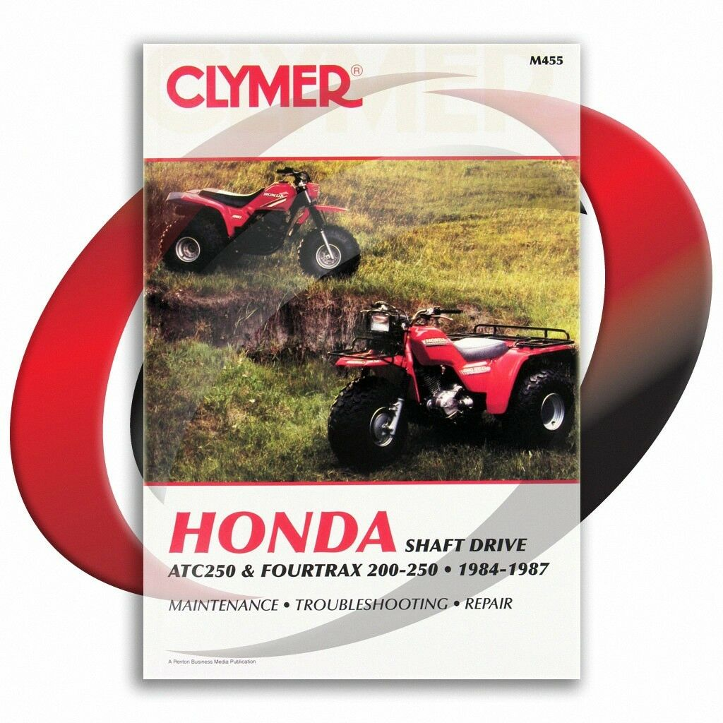 1985-1987 Honda ATC250ES Repair Manual Clymer M455 Service Shop Garage 1 of  4Only 2 available ...