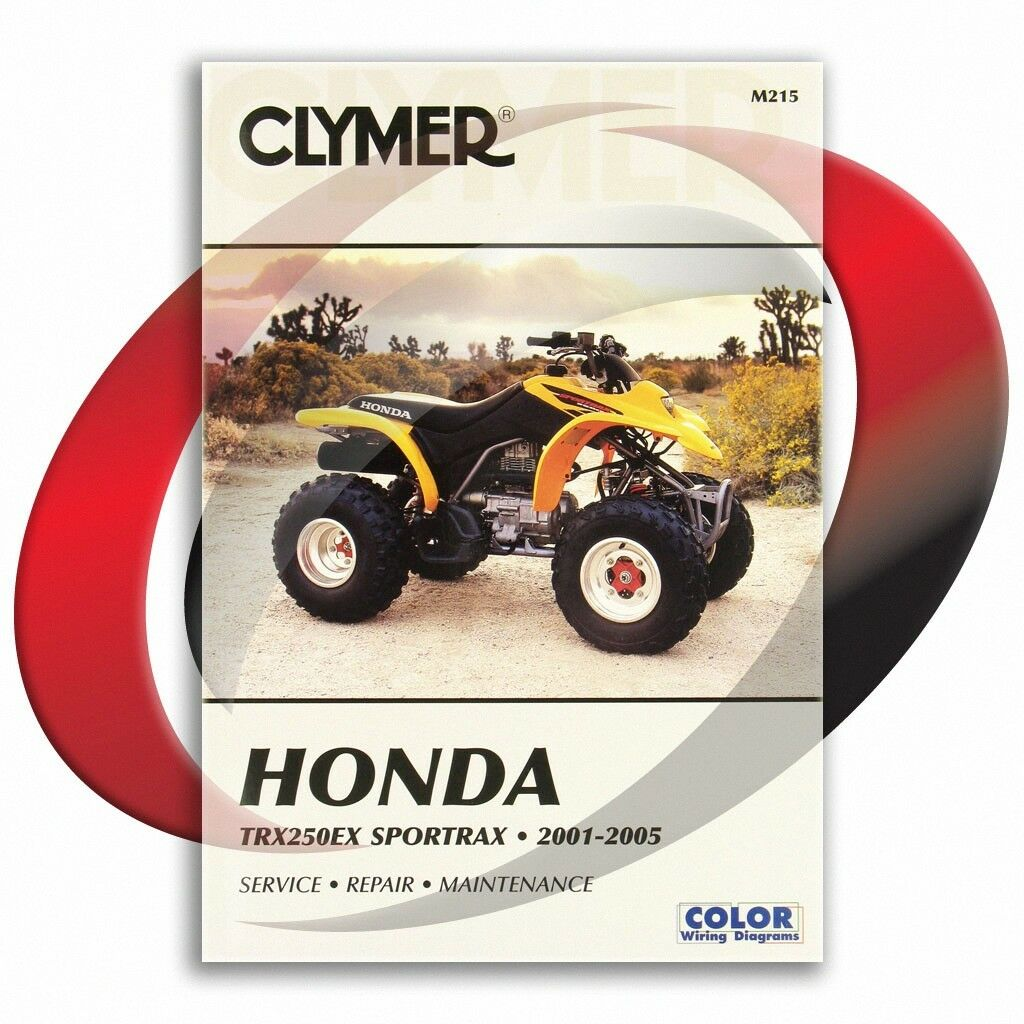 2001-2005 Honda TRX250EX Sportrax Repair Manual Clymer M215 Service Shop  Garage 1 of 4Only 2 available ...