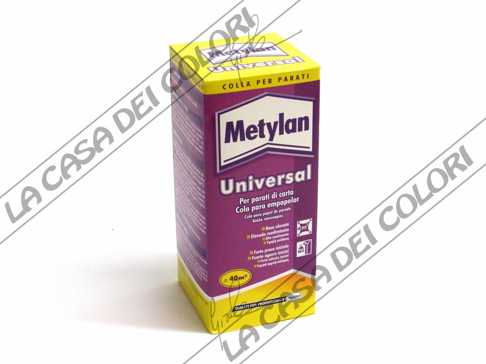 Henkel metylan universal 125g colla per parati for Colla per carta parati