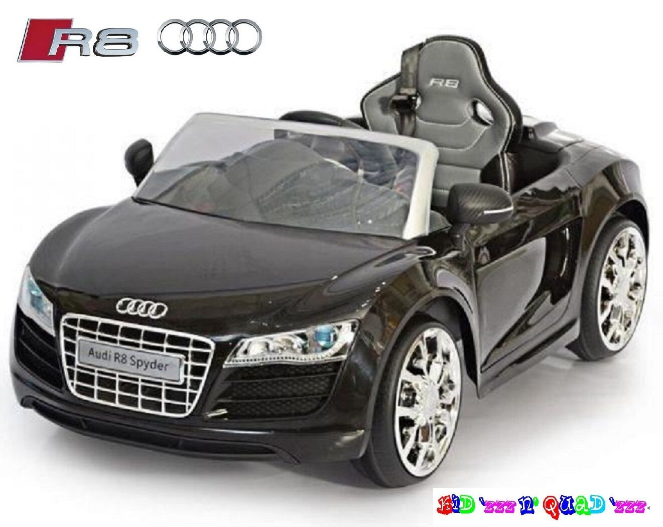 audi r8 spyder 12v voiture electrique enfant 1 5 ans monoplace radiocommande eur 309 00. Black Bedroom Furniture Sets. Home Design Ideas