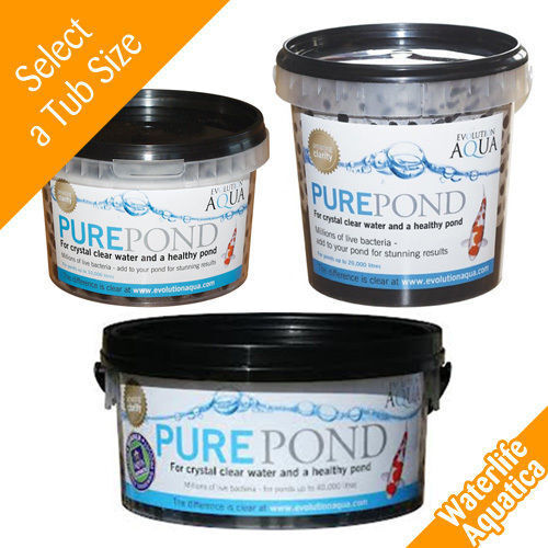 EA Pure Pond Balls - 'BEST' Multi-pack Prices! 500ml, 1000ml, 2000ml - Free P&P!