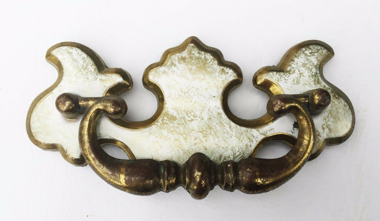 """Chippendale Antique Hardware Vintage French Provincial Drawer Pull 3"""" centers"""