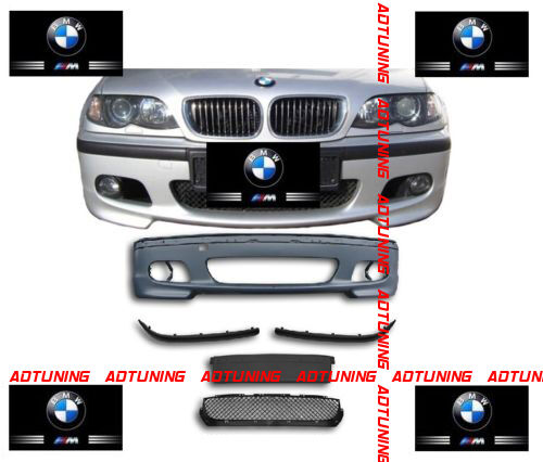 parechoc pare choc avant pack m m2 en abs bmw serie 3 e46 berline break touring eur 140 00. Black Bedroom Furniture Sets. Home Design Ideas