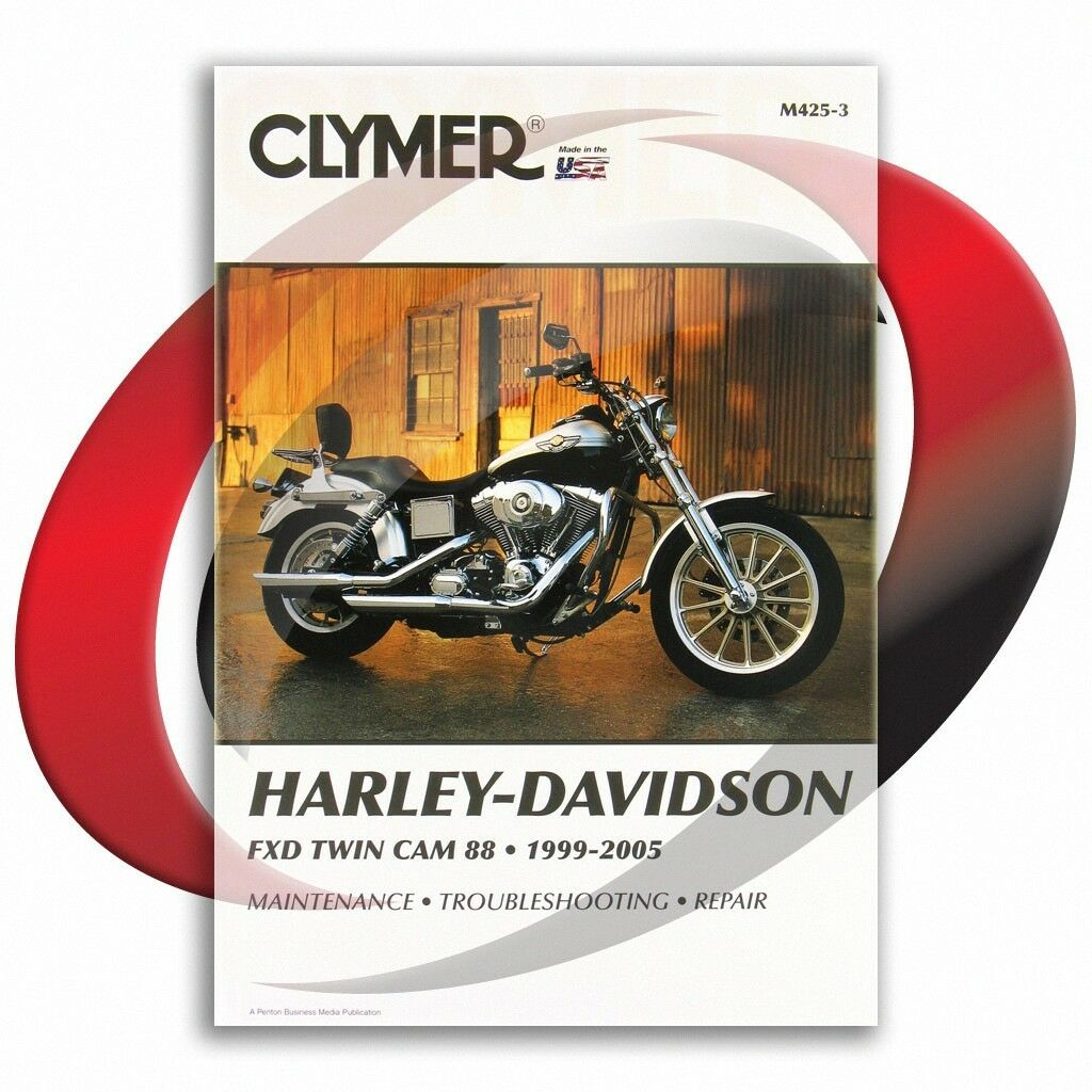 1999-2005 Harley Davidson FXDWG/FXDWGI DYNA WIDE GLIDE Repair Manual Clymer  1 of 4FREE Shipping See More