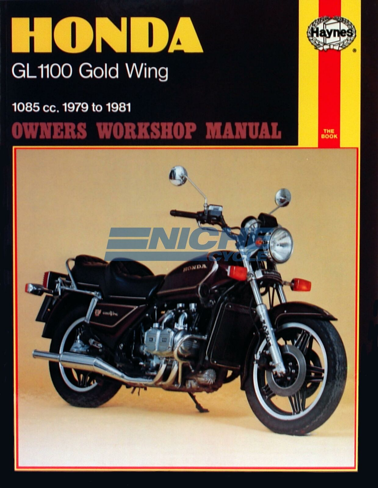 Honda Gold Wing GL1100 79-81 Haynes Service Repair Manual Book M669 1 of  1Only 4 available ...