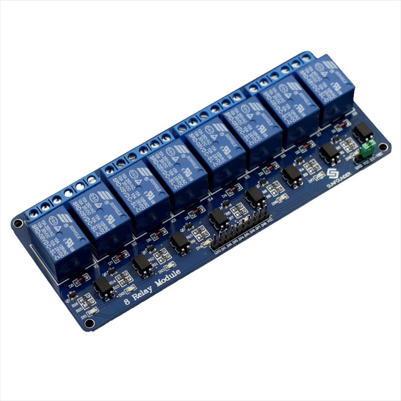 Arduino 8 Channel Relay Module Daftar Harga Terlengkap Indonesia Hobbyistconz 5v With Optocoupler For Pic Arm Dsp Avr 1 Of