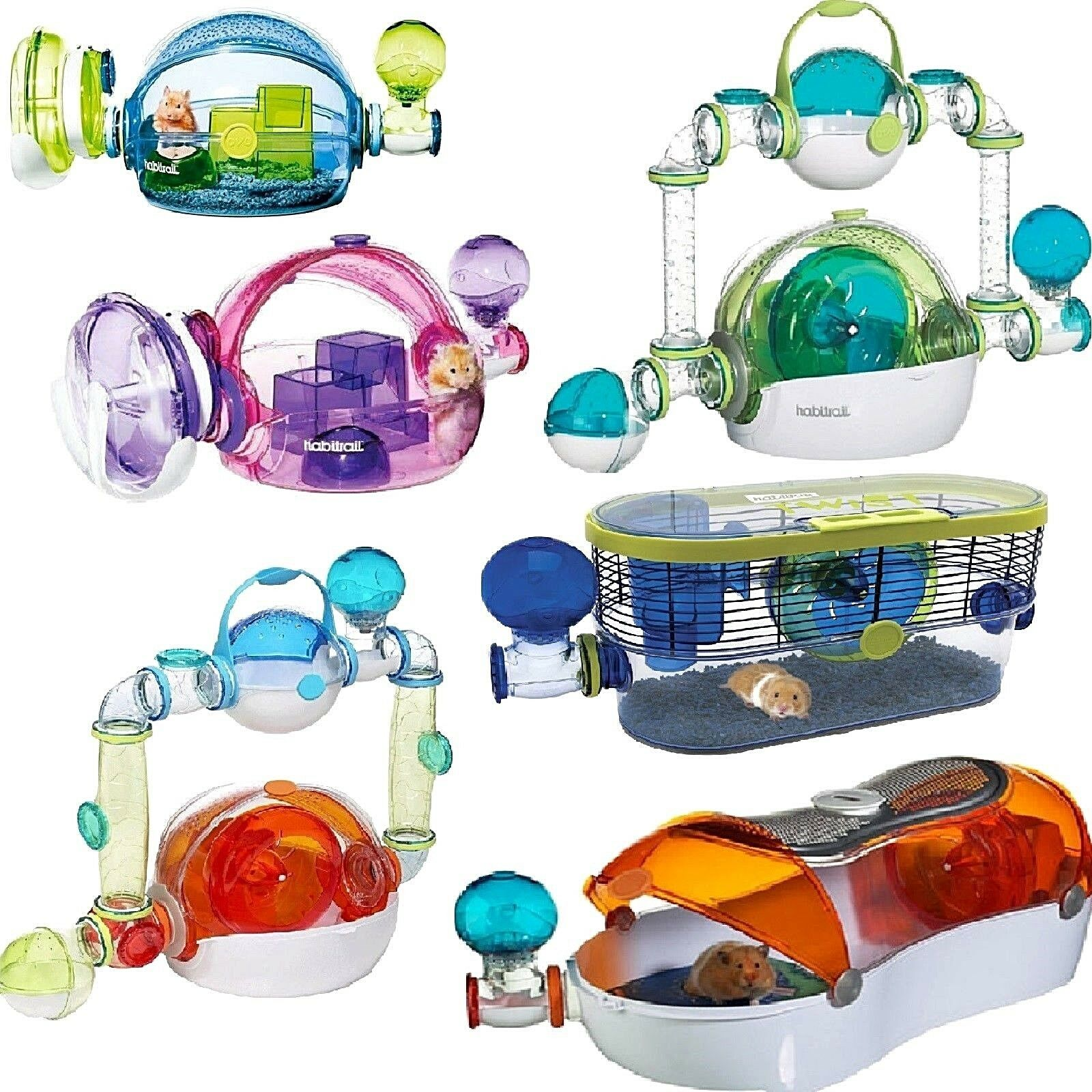 HABITRAIL - Pet OVO Hamster Habitat Edition Animal Home ...