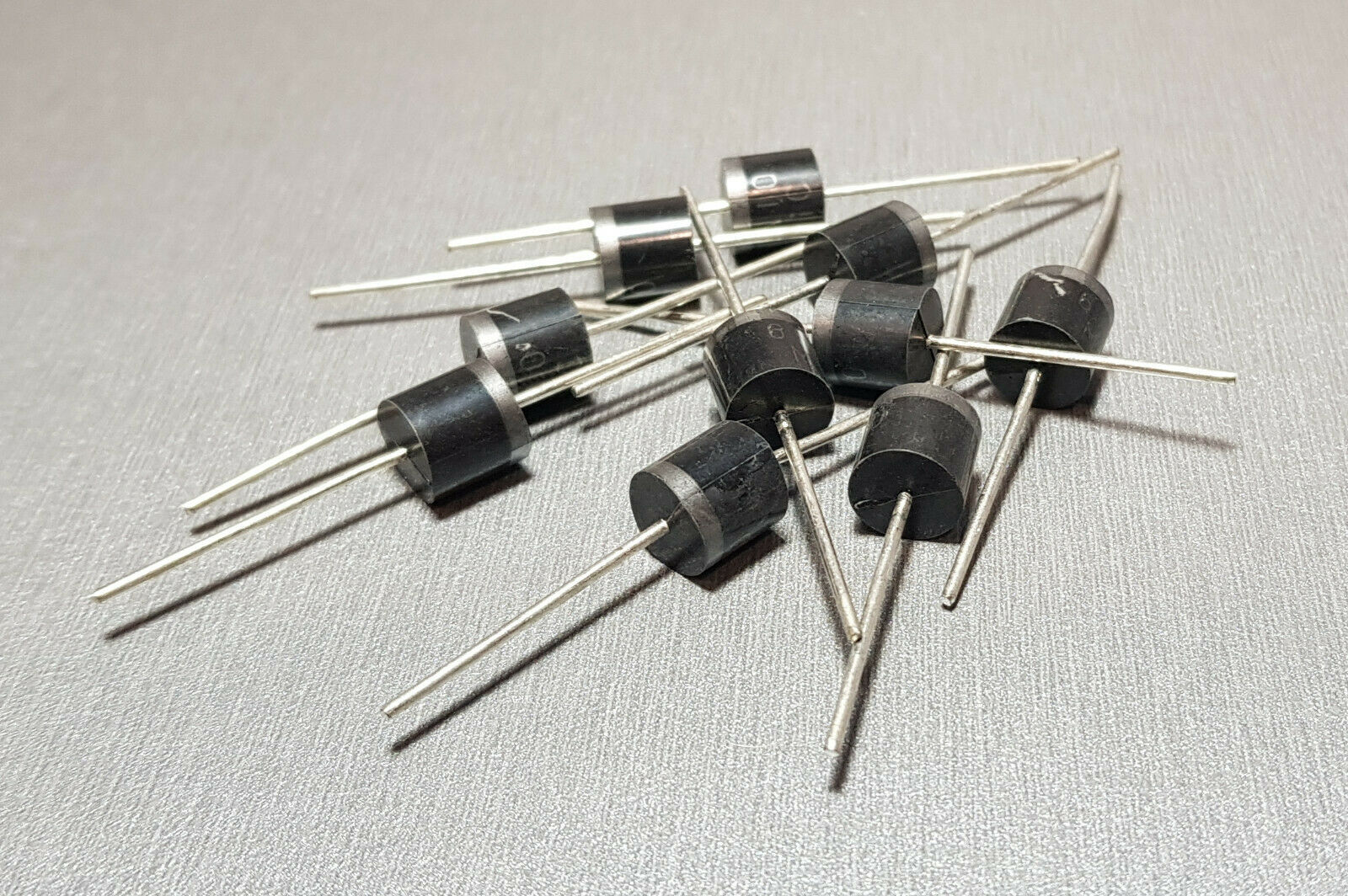 6A10 6A 1000V 1KV 6 Amp Axial Rectifier Diode Pack of 10