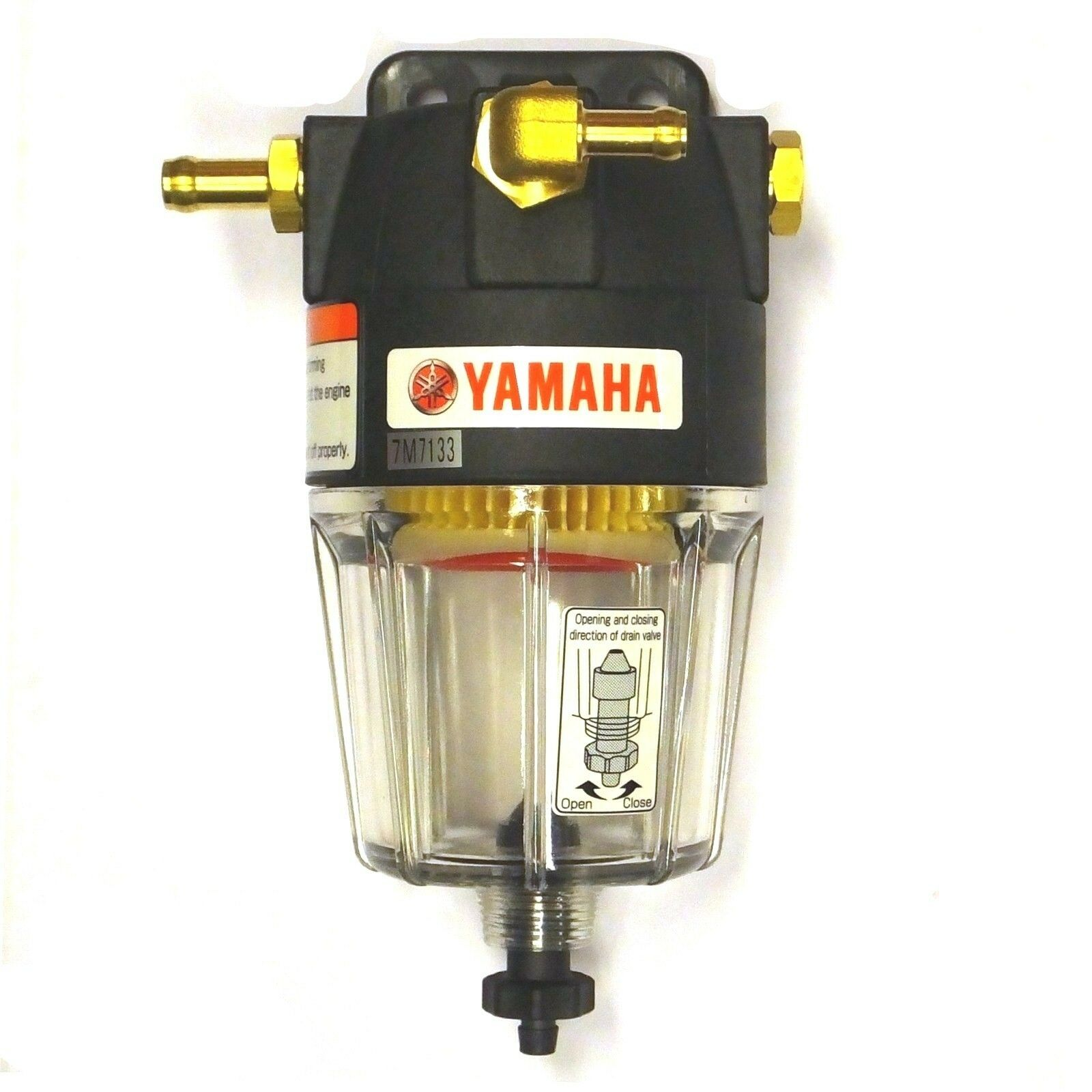 Yamaha Water Separating Fuel Filter Up To 300hp Marine Engine 1 Of 1free Shipping