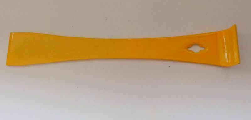Bee Hive Yellow Metal  Tool prising open frames honey extraction