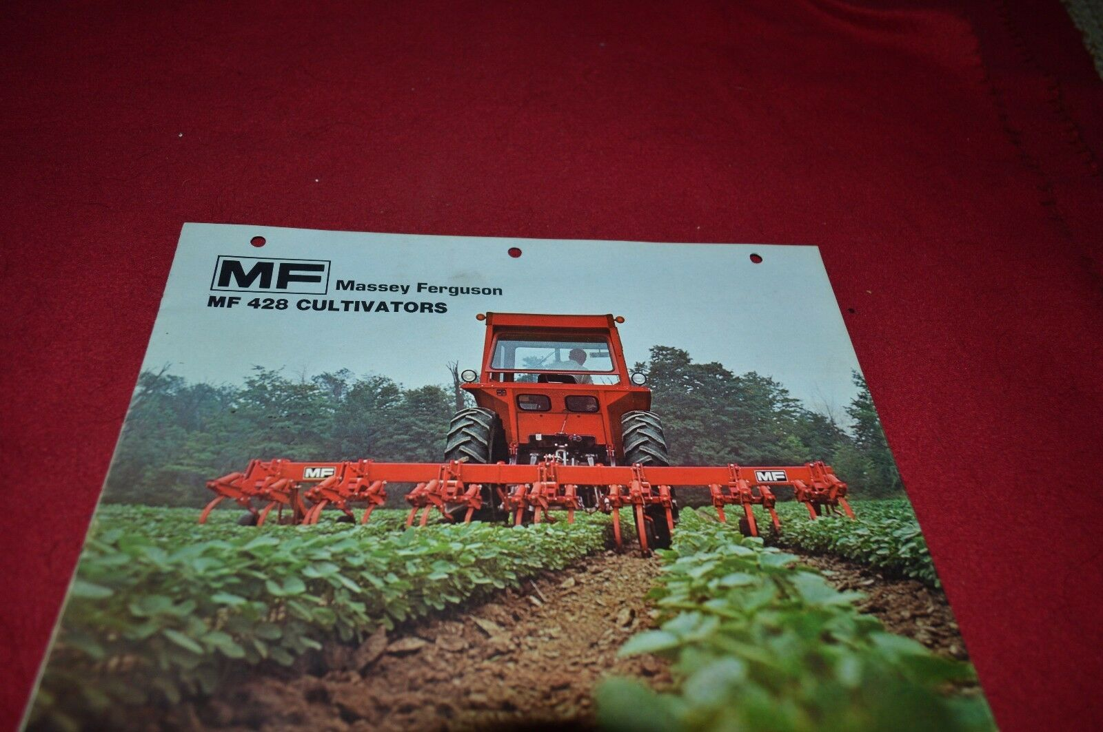 Massey Ferguson 428 Cultivator Dealer's Brochure DCPA 1 of 1Only 1  available ...