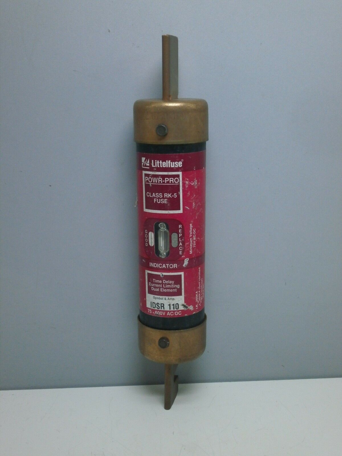 Littelfuse Idsr110 110 Amp Powr Pro Time Delay Class Rk5 Fuse 110a Surfacemount Timedelay 1 Of 2only Available
