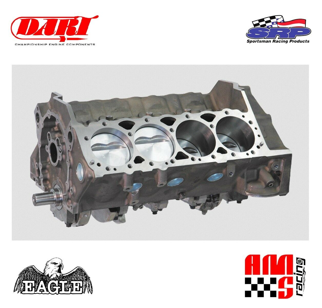 Ams racing 572 ci bbc dart big m forged stroker short block forged 1 of 1only 1 available malvernweather Choice Image