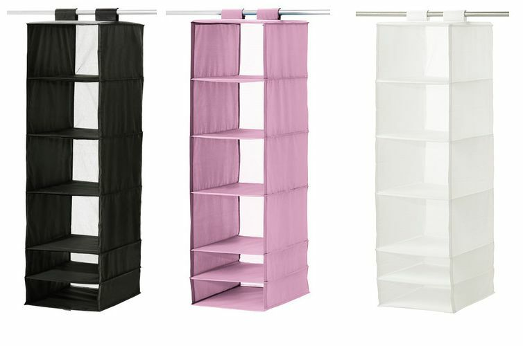 New IKEA SKUBB Hanging Closet Storage Organizer 6 Compartment 1 Of 1Only 1  Available ...