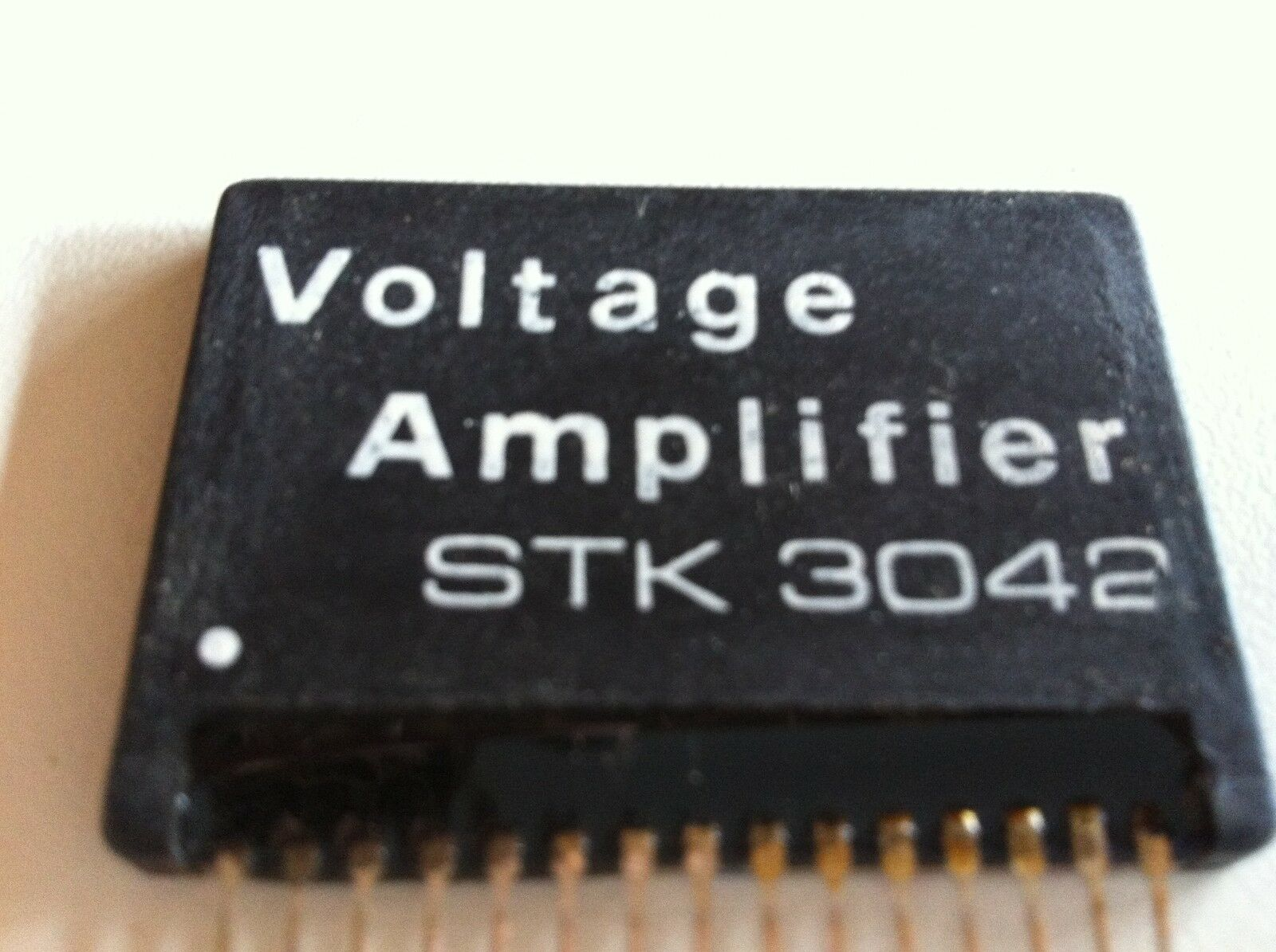 Stk3042 Voltage Amplifier Heat Sink Compound By Sanyo 1995 40w Audio Based On Tda1514 1 Of 1free Shipping