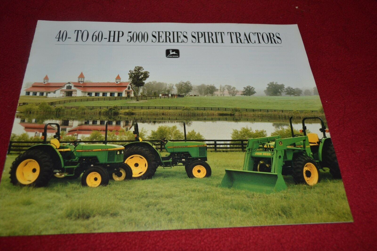 John Deere 5200 5300 5400 Tractor Dealer's Brochure AMIL8 94-01 1 of 1FREE  Shipping ...