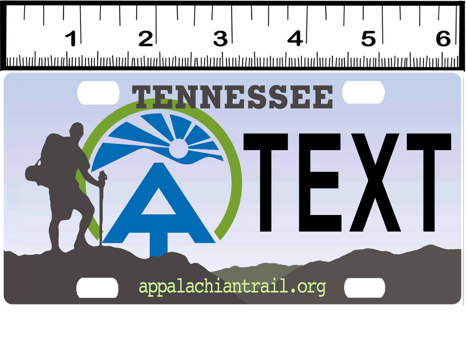 Personalized Custom Bicycle State License Plate-Tennessee ...