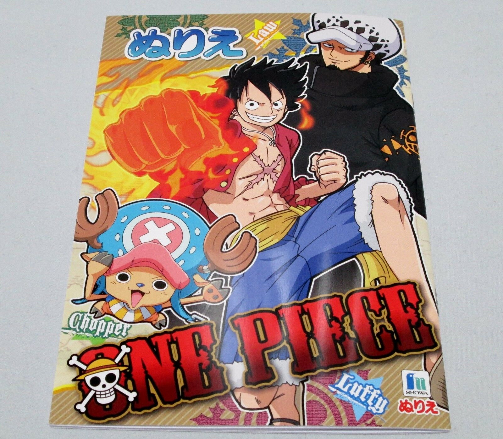 Kids Anime Coloring Book 32 Pages One Piece Japan Limited Free