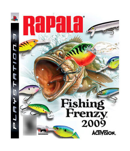 Rapala fishing frenzy 2009 ps3 brand new sealed for Rapala fishing frenzy 2009