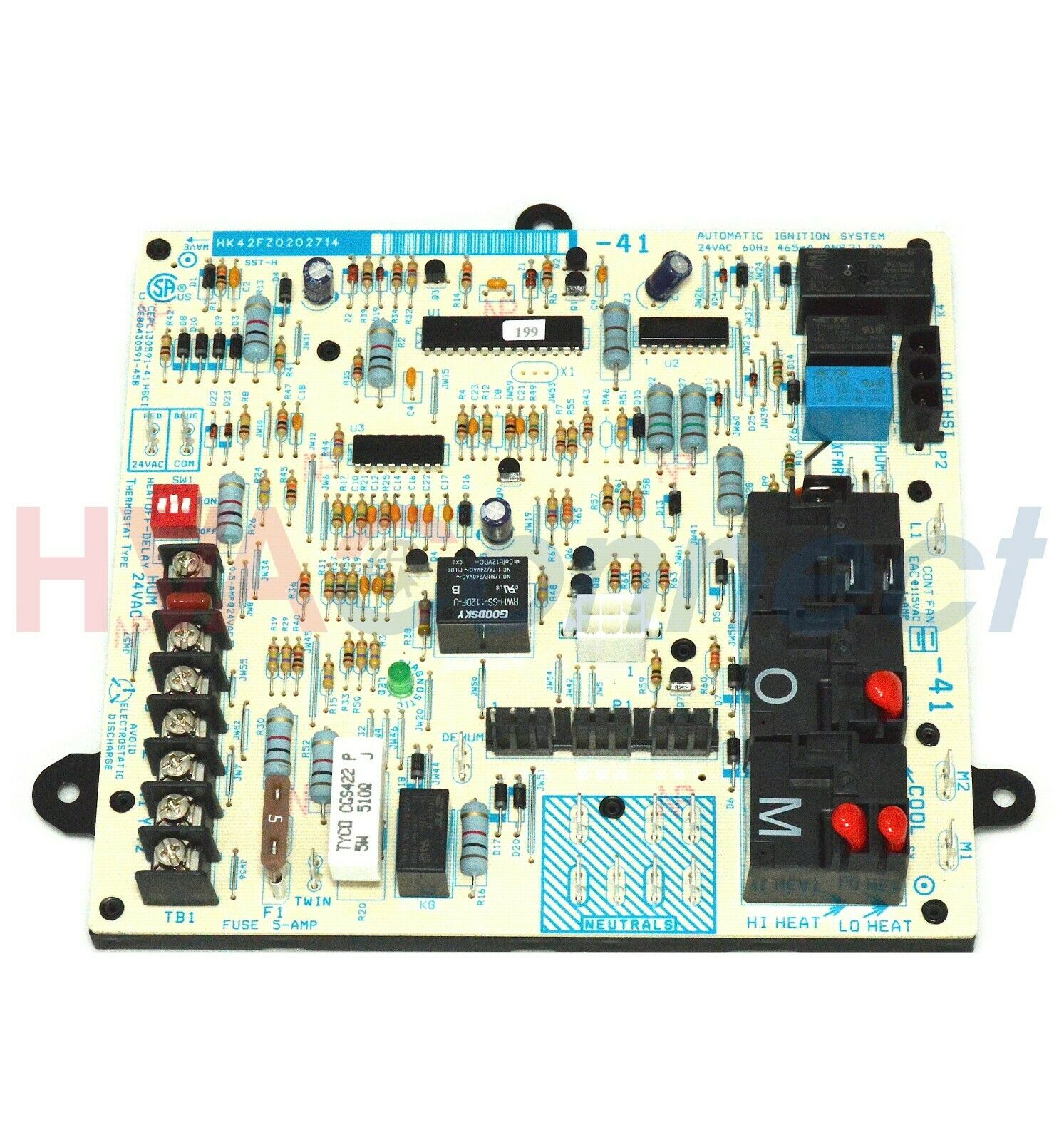 ICP Tempstar Heil Comfort Maker Furnace Control Circuit Board 1172809  HK42FZ020 1 of 1Only 4 available ...